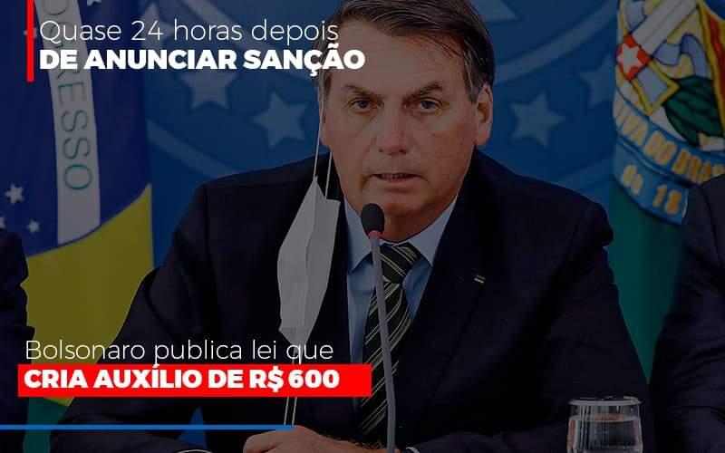 Bolsonaro Publica Lei Que Cria Auxilio Emergencial - Abrir Empresa Simples
